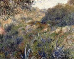 Renoir - Paysage d'Algerie, le ravin de la femme sauvage, 1881