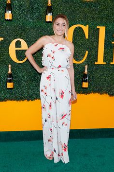 Lauren Conrad's 2016 Veuve Clicquot Polo Classic Look // Photo: Rich Polk for Getty Images