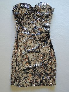 Dolce & Gabbana sequin mini dress  www.fullcirclefashion.com