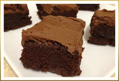 Frosted Fudge Brownies by Godiva