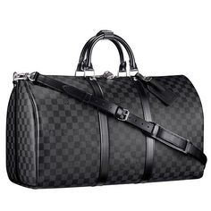 Louis Vuitton Damier Graphite Keepall Bandouliere