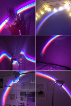 L O S T Rainbow Wallpaper, Purple Wallpaper, Aesthetic Pastel Wallpaper, Cute Wallpaper Backgrounds, Aesthetic Backgrounds, Tumblr Wallpaper, Disney Wallpaper, Cute Wallpapers, Aesthetic Wallpapers