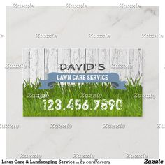 Lawn Care Business Cards, Unique Business Cards, Professional Business Cards, Landscaping Supplies, Landscaping Tips, Front Yard Landscaping, Landscaping Borders, Lawn Service, Professional Cleaning Services