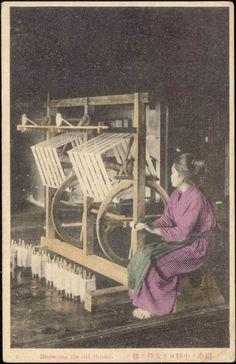 Japan Silk Reeling 1910s