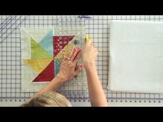 ▶ Wishes Quilt Along Block One: Flying Kite - YouTube