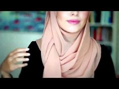 tutorial hijab pashmina 1hijab tutorial style - YouTube