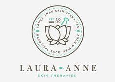 Laura Anne Skin Therapies logo via imaginariacreative