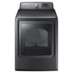 Product Overview  This Samsung electric dryer with Multi-Steam Technology freshens clothes, removes wrinkles, and with 7.4 cu. ft. capacity, does more laundry in less time. With 15 preset drying cycles, you can tailor each load to the fabric type you're drying. And, Samsung's patented