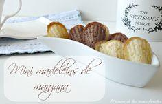 Madeleins de manzana y chocolate- El rincón de las cosas bonitas