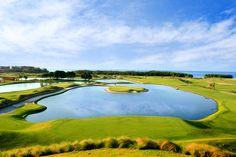 The Black Pearl Golf Course at Pristine Bay. Roatan, Honduras