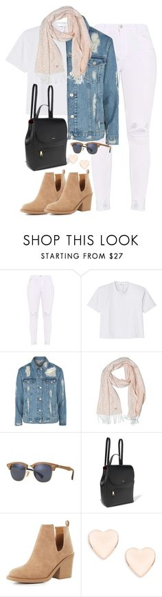 """Untitled #2405"" by thisishowwedress on Polyvore featuring TIBI, Topshop, Calvin Klein, Ray-Ban, Ralph Lauren, Qupid and Ted Baker"