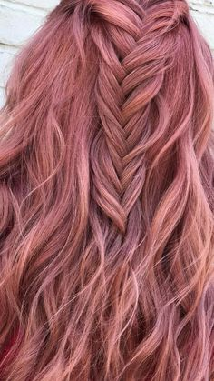 Pulp Riot Hair Color – Rose Gold - All About Hairstyles Gold Hair Colors, Hair Color Purple, Cool Hair Color, Pink Hair, Pastel Hair Colors, Rose Gold Toner, Rose Gold Hair, Dye My Hair, New Hair