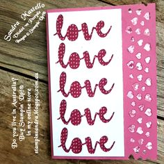 Hi Everyone! Thank you for coming by and having a look at today's cards, inspired by our international blog hop theme    Love!!     ...