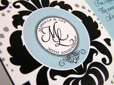 Special Event Monogram www.cameleon-design.ca