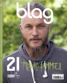 Travis Fimmel en portada de Blag Magazine 21st Birthday Edition | Male Fashion Trends