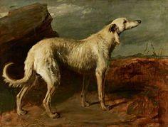Braan, a Celebrated Scottish Deerhound by Thomas Duncan