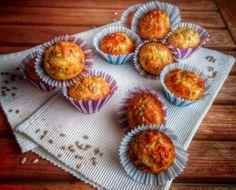 muffin con pecorino prosciutto cotto e pancetta