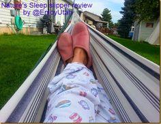 Nature's Sleep slipper review by @EnjoyUtah #naturessleep #memoryfoam