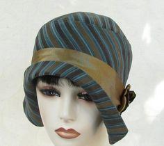 Roaring Twenties Flapper Style Cloche Hat
