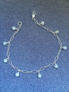 A personal favorite from my Etsy shop https://www.etsy.com/listing/290532237/moonstone-anklet