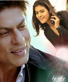 Shahrukh Khan and Kajol - fan art - My Name is Khan (2010)