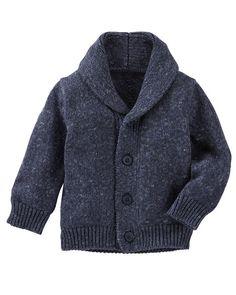 Baby Boy Marled Shawl Collar Cardigan from OshKosh B'gosh. Shop clothing &…