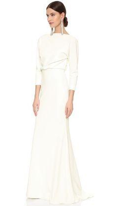 $550 Bridal Badgley Mischka Collection It Dress Micro Rib Gown