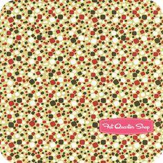 Tweet for Two Lime Square Dots Yardage SKU# 0535-116 - Fat Quarter Shop