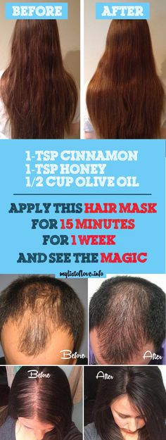 try this homemade hair mask for longer thicker and shinier hair