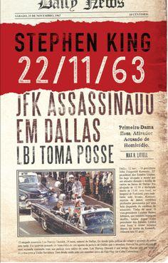 «22/11/63» – Stephen King (Bertrand) | Porta-Livros