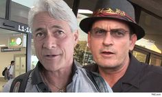 Charlie Sheen and Greg Louganis.  TMZ