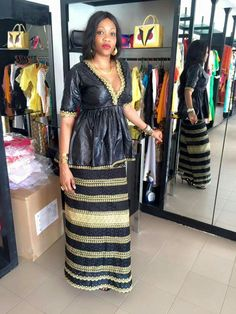 African Print Clothing, African Print Fashion, Tribal Fashion, African Fashion Dresses, Fashion Outfits, Womens Fashion, African Wear, African Dress, African Design