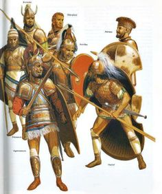 Heroes of the Trojan War by Peter Connolly