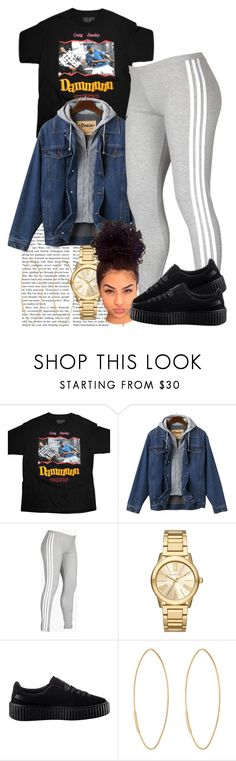 """Chill Fit"" by goddessnaii ❤ liked on Polyvore featuring adidas, Michael Kors, Puma and Lana"