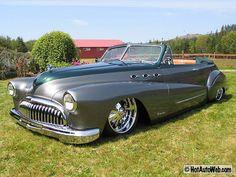 "1948 Buick Roadmaster Convertible ""Custom"""