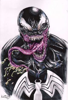 Venom bust by Kokkinakis-Achilleas