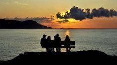 El banco más bonito del mundo está en la costa de Loiba, Ortigueira ANGEL MANSO