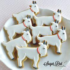 Sugar Dot Cookies: Goat Sugar Cookies