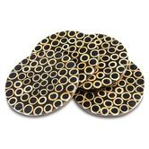 Coasters | Recycled Gifts | Fair Trade Kitchenware Black Bamboo Inlay Coasters $21.95 To place an order for this beautiful kitchen item, click on the link below www.oxfamshop.org.au  #oxfam #oxfamshop #fairtrade #shopping #kitchen #kitchenware