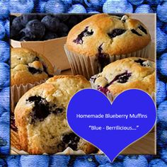 Blueberry Muffins Recipe from Mammas Recipes