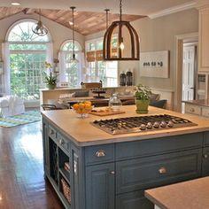 Rustic Kitchen by Ally Whalen Design