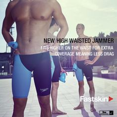 Speedo High Waisted Jammer for extra coverage & less drag #Swim #Speedo #LZR #Fastskin