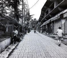 Streets of Mcleodganj...