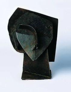 Bust, by Julio Gonzalez | About Face | Pinterest | Sculpture ...