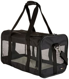 AmazonBasics Soft-Sided Pet Travel Carrier * Read more reviews of the product by visiting the link on the image.