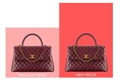 4b1ec9550484 13 Awesome Chanel Price Increases images | Chanel price, Price ...