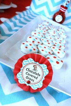 Dr. Seuss Birthday Party Ideas | Photo 30 of 81 | Catch My Party