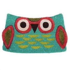 I already have an owl doormat, but now I can alternate them! LOL