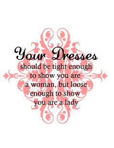 Dresses - Marilyn Monroe quote