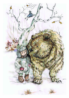 My Honeyland Whimsical Children's Books Illustrations. Imagination and Confidence Boosting Watercolour Art Classes. Book Illustration, Illustrations, Teaching Style, Cute Kids, Childrens Books, Watercolor Art, Whimsical, Moose Art, Bear
